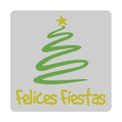 """Etiquetas adhesivas """"Navidad y Felices Fiestas"""" S31-013"""