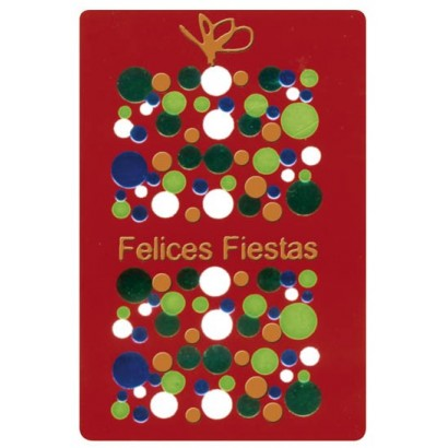"""Etiquetas adhesivas """"Navidad y Felices Fiestas"""" SET-1156"""
