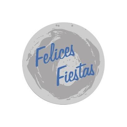 """Etiquetas adhesivas """"Navidad y Felices Fiestas"""" S31-010"""
