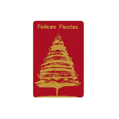 """Etiquetas adhesivas """"Navidad y Felices Fiestas"""" SET-058"""
