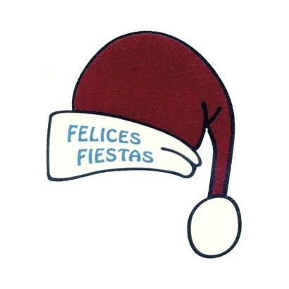 """Etiquetas adhesivas """"Navidad y Felices Fiestas"""" SET-951"""