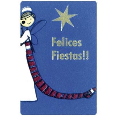 """Etiquetas adhesivas """"Navidad y Felices Fiestas"""" SET-1155"""