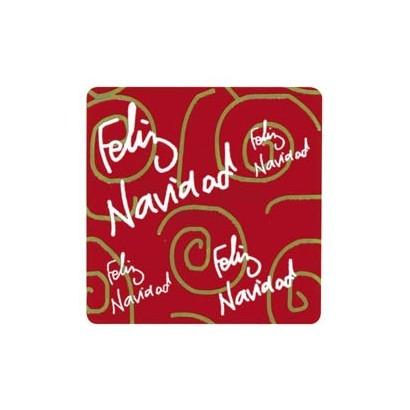 """Etiquetas adhesivas """"Navidad y Felices Fiestas"""" SET-061"""