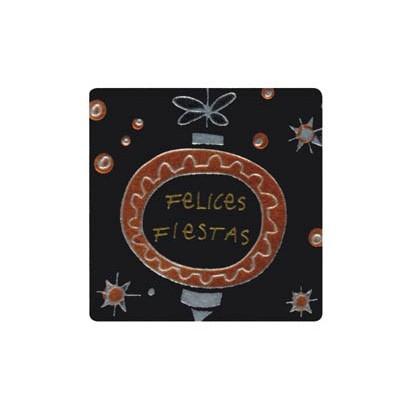 """Etiquetas adhesivas """"Navidad y Felices Fiestas"""" SET-1251"""