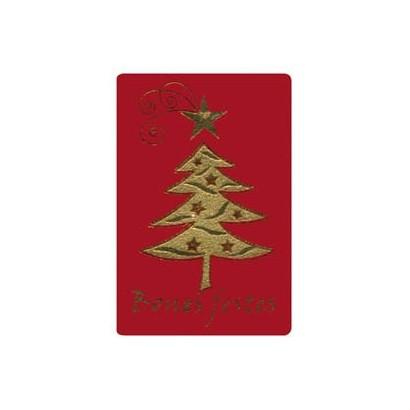 """Etiquetas adhesivas """"Navidad y Felices Fiestas"""" SET-1252"""