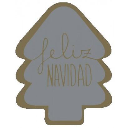 """Etiquetas adhesivas """"Navidad y Felices Fiestas"""" SET-1351"""