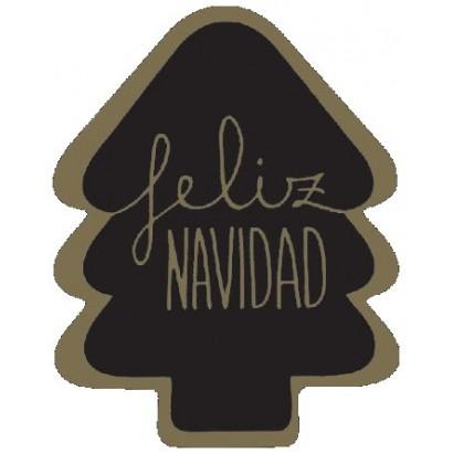 """Etiquetas adhesivas """"Navidad y Felices Fiestas"""" SET-1352"""