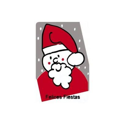 """Etiquetas adhesivas """"Navidad y Felices Fiestas"""" SET-057"""