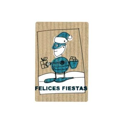 """Etiquetas adhesivas """"Navidad y Felices Fiestas"""" SET-1169"""