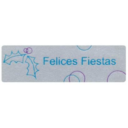 """Etiquetas adhesivas """"Navidad y Felices Fiestas"""" SET-1154"""