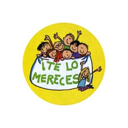 """Etiquetas adhesivas """"Te lo mereces"""" S3-729"""
