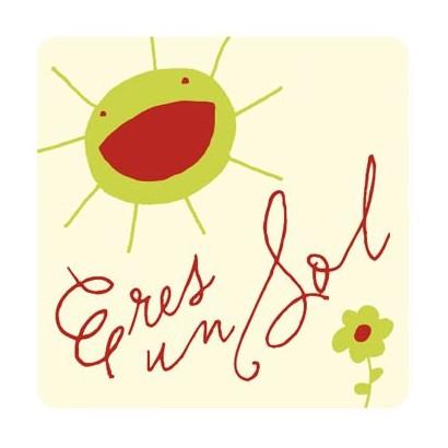 "Etiquetas adhesivas ""Eres un sol"" S31-002"