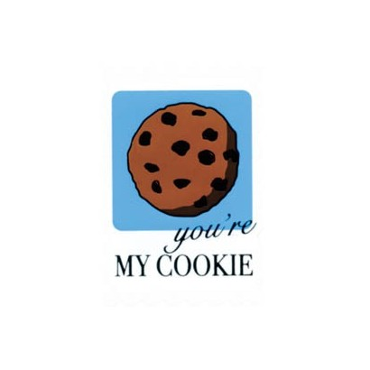 "Etiquetas adhesivas ""You're my cookie"" SET-1203"