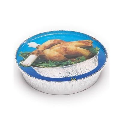 Tapa para pollo redondo bajo