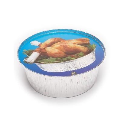 Tapa para pollo redondo alto