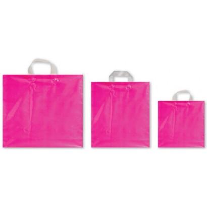Bolsas de plástico asa flexible