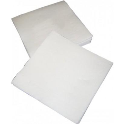 Servilletas blancas de dos capas