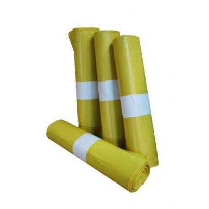 Bolsa de basura industrial amarilla