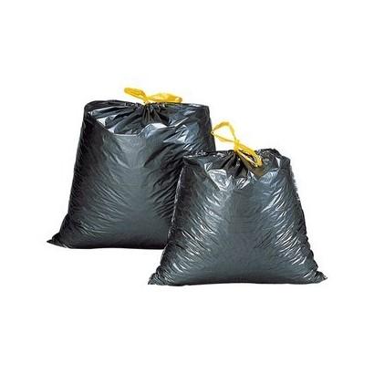 Bolsa de basura doméstica con autocierre
