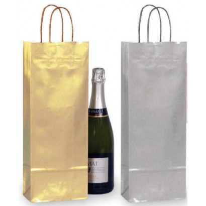 Bolsas para botellas exclusive asa retorcida