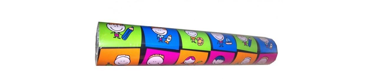 Papel de regalo diseños infantiles