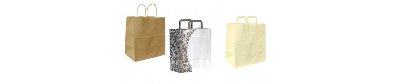 Bolsas para pasteleria y alimentación de papel