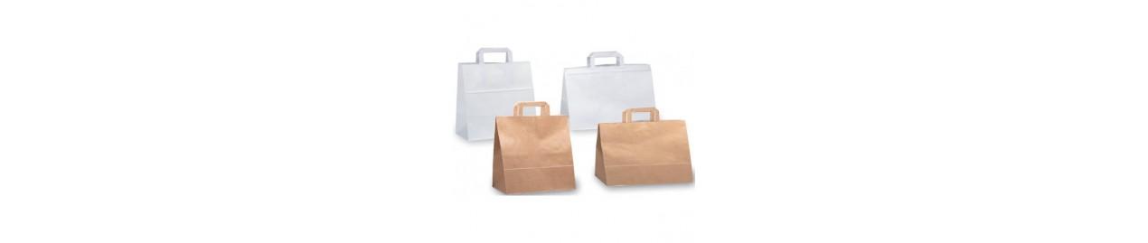 Bolsas de comida para llevar y panadería