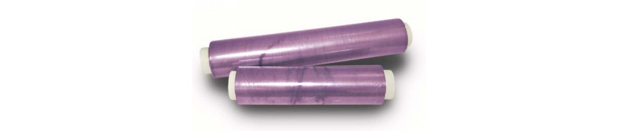 Complementos de aluminio, film y parafina