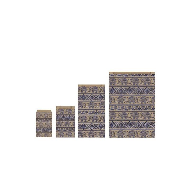 Sobres de papel Elefantes Granate