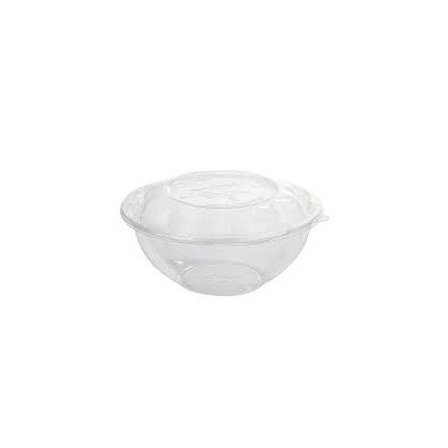 Bowl transparente PLA con tapa 1420 ml