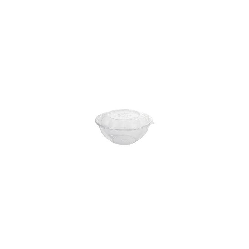 Bowl transparente PLA con tapa 1420 ml