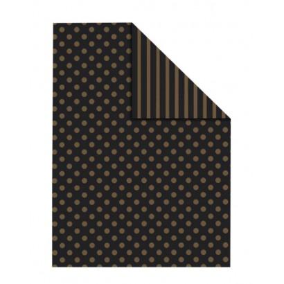 Bobina papel regalo bicolor B0874