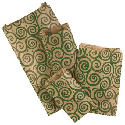 Sobres de papel BUCLE verde