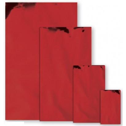 Sobres metalizados mate rojo