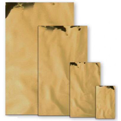 Sobres metalizados mate oro
