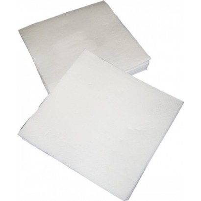 Servilletas blancas de una...