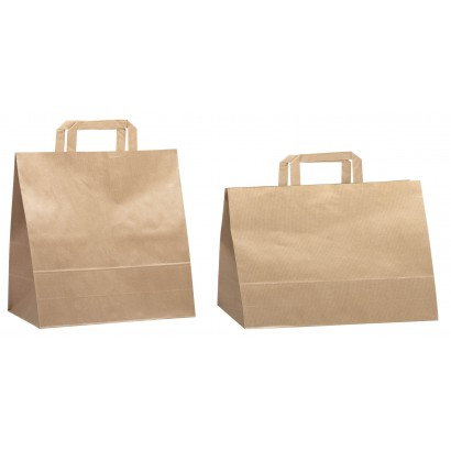 Bolsas take away asa plana