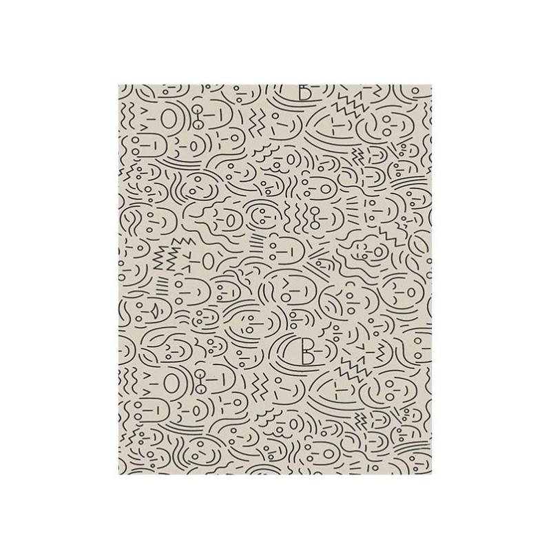 Bobina papel regalo kraft diseños K3211