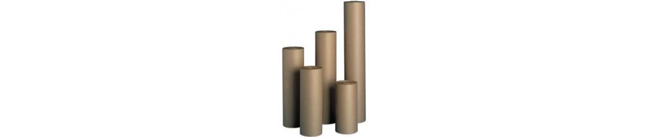 Bobinas de papel para relleno, envolver y carroceros